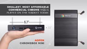 New AOPEN Chrome Mini Devices