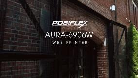 Posiflex AURA-6906W Web-based POS Printer, Any Mobile Device Works on One Single Web Printer